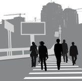 οδός ανθρώπων Στοκ εικόνες με δικαίωμα ελεύθερης χρήσης