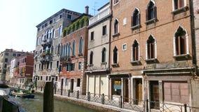 οδός Βενετία της Ιταλίας Στοκ Φωτογραφίες