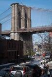 Οδός γεφυρών του Μπρούκλιν Στοκ Εικόνα