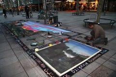 οδός καλλιτεχνών Στοκ εικόνες με δικαίωμα ελεύθερης χρήσης