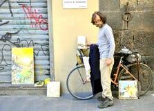 οδός καλλιτεχνών Στοκ Φωτογραφίες