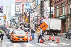 Οδός κεντρικός στο Τορόντο, Καναδάς Στοκ εικόνα με δικαίωμα ελεύθερης χρήσης