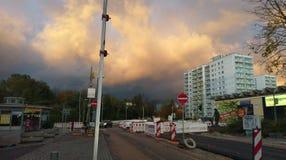 Οδός λυκόφατος Στοκ εικόνα με δικαίωμα ελεύθερης χρήσης