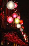 οδός νύχτας Στοκ Φωτογραφίες