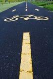 οδός ποδηλάτων στοκ φωτογραφία