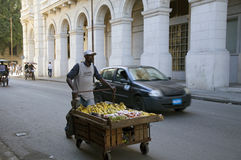 οδός πωλητών της Κούβας Δ&eps Στοκ Εικόνα