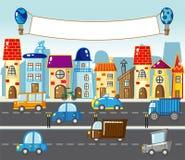 Οδός πόλεων ελεύθερη απεικόνιση δικαιώματος
