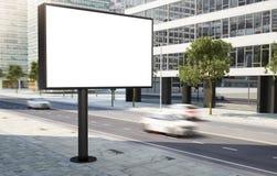 οδός πόλεων Al πινάκων διαφημίσεων Στοκ φωτογραφία με δικαίωμα ελεύθερης χρήσης