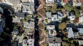 Οδός Σαν Φρανσίσκο ΗΠΑ Lombard Στοκ φωτογραφίες με δικαίωμα ελεύθερης χρήσης
