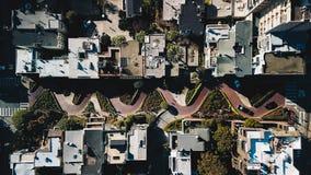 Οδός Σαν Φρανσίσκο ΗΠΑ Lombard Στοκ φωτογραφία με δικαίωμα ελεύθερης χρήσης