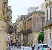 Οδός σε Lecce Στοκ φωτογραφίες με δικαίωμα ελεύθερης χρήσης
