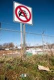 οδός σημαδιών ρύπανσης 02 Στοκ φωτογραφία με δικαίωμα ελεύθερης χρήσης
