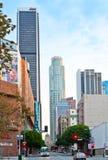 οδός σκηνής αυγής Los της Angeles σ Στοκ Εικόνες