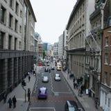 οδός σκηνής του Λονδίνο&upsi Στοκ Εικόνες