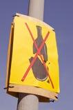 οδός στάσεων σημαδιών αλ&kappa Στοκ εικόνα με δικαίωμα ελεύθερης χρήσης