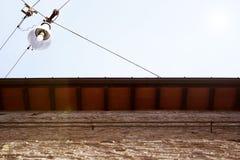 οδός στεγών λαμπτήρων Στοκ φωτογραφία με δικαίωμα ελεύθερης χρήσης