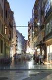 Οδός στην Καρχηδόνα, Ισπανία Στοκ φωτογραφίες με δικαίωμα ελεύθερης χρήσης
