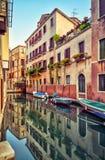 Οδός στη Βενετία, Ιταλία Στοκ φωτογραφίες με δικαίωμα ελεύθερης χρήσης