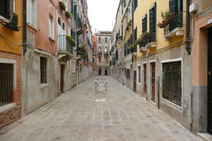 Οδός στη Βενετία Στοκ Φωτογραφίες