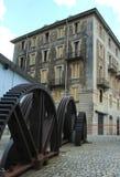Οδός στο ιστορικό κέντρο στοκ φωτογραφίες με δικαίωμα ελεύθερης χρήσης