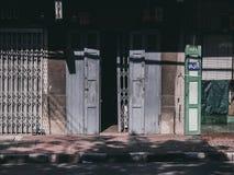 Οδός Ταϊλάνδη στη Μπανγκόκ στοκ εικόνες