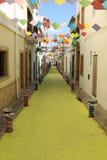 οδός της Ισπανίας javea φεστι&b Στοκ φωτογραφία με δικαίωμα ελεύθερης χρήσης