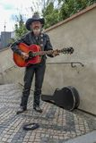 οδός της Πράγας καλλιτεχνών Στοκ φωτογραφία με δικαίωμα ελεύθερης χρήσης