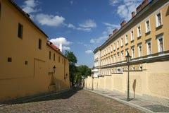 οδός της Πράγας Στοκ φωτογραφία με δικαίωμα ελεύθερης χρήσης