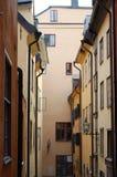 οδός της Στοκχόλμης Στοκ φωτογραφία με δικαίωμα ελεύθερης χρήσης