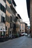 οδός της Φλωρεντίας στοκ εικόνα