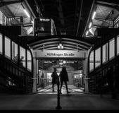 Οδός τη νύχτα Στοκ Φωτογραφία