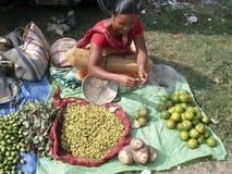 οδός του Πακιστάν αγοράς στοκ εικόνες