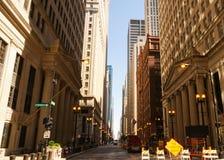 Οδός του Σικάγου στοκ εικόνες με δικαίωμα ελεύθερης χρήσης