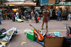οδός του Χογκ Κογκ apliu στοκ εικόνες με δικαίωμα ελεύθερης χρήσης