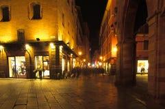 οδός του Azeglio Μπολόνια δ Στοκ Εικόνα