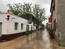 Οδός του ST George, ST Augustine, Φλώριδα στοκ εικόνες