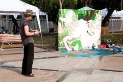 οδός φεστιβάλ chiangmai τέχνης Στοκ εικόνα με δικαίωμα ελεύθερης χρήσης