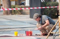 οδός φεστιβάλ chiangmai τέχνης Στοκ φωτογραφία με δικαίωμα ελεύθερης χρήσης