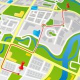 οδός χαρτών ελεύθερη απεικόνιση δικαιώματος