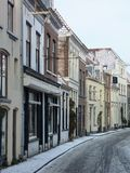 οδός χιονιού Στοκ Φωτογραφίες