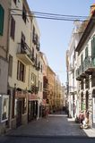 Οδός Alghero στοκ εικόνα με δικαίωμα ελεύθερης χρήσης