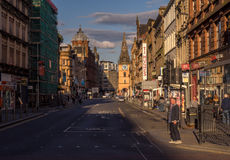 Οδός Argyle, Γλασκώβη Στοκ φωτογραφία με δικαίωμα ελεύθερης χρήσης