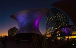 Οδός CDMX πανοράματος της Πόλης του Μεξικού στοκ εικόνες