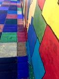 Οδός Colorfully στοκ φωτογραφία με δικαίωμα ελεύθερης χρήσης