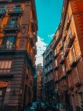 Οδός Napoli στοκ εικόνες