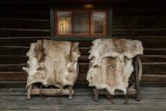 Οδός Roros, νορβηγική πόλη μεταλλείας στοκ φωτογραφίες