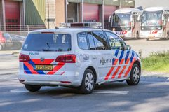 Οδός Rozenburglaan τροχαίου σε Duivendrecht οι Κάτω Χώρες 2018 στοκ φωτογραφίες