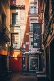 Οδός Tubo σε Σαραγόσα, Ισπανία στοκ φωτογραφίες με δικαίωμα ελεύθερης χρήσης