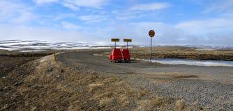 οδόφραγμα ορεινών περιοχ Στοκ φωτογραφίες με δικαίωμα ελεύθερης χρήσης