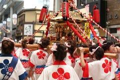 Οζάκα, Ιαπωνία - φεστιβάλ Tenjin Matsuri Στοκ φωτογραφία με δικαίωμα ελεύθερης χρήσης
